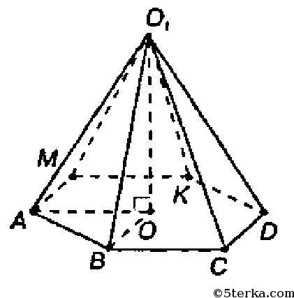 найдите объем шестиугольной пирамиды 33