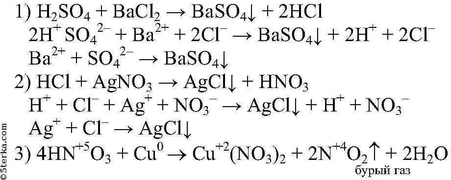 как решать уравнения в ионном виде