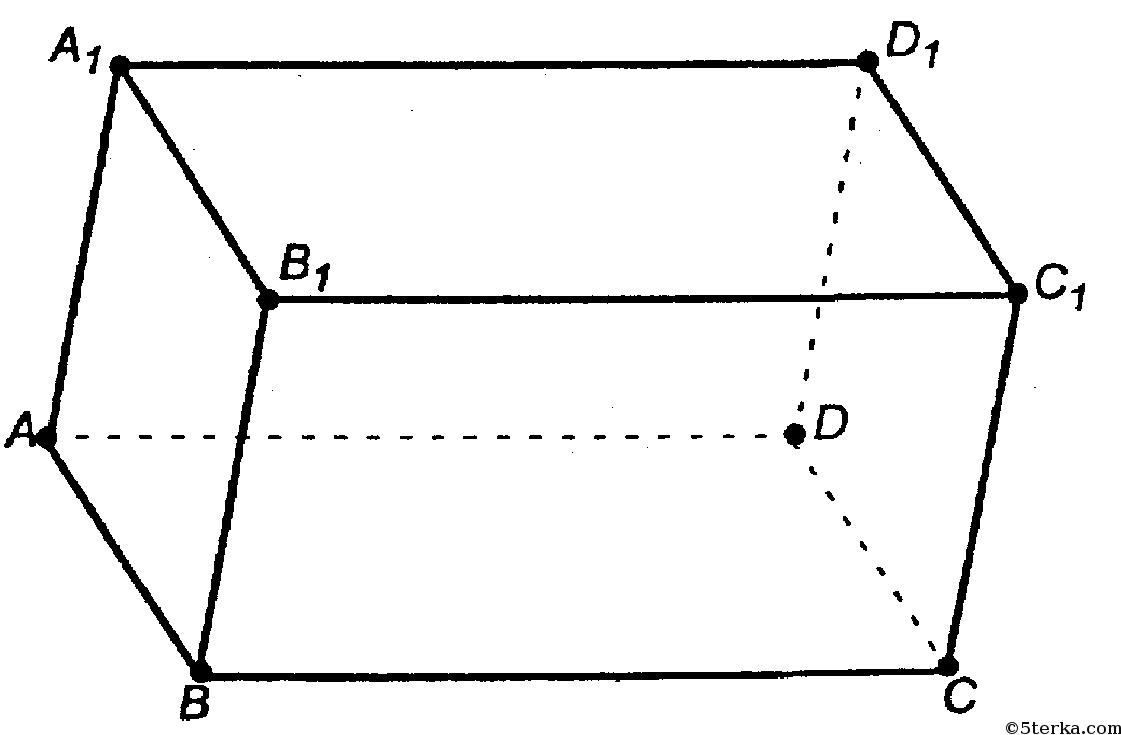 параллелепипед рисунок: