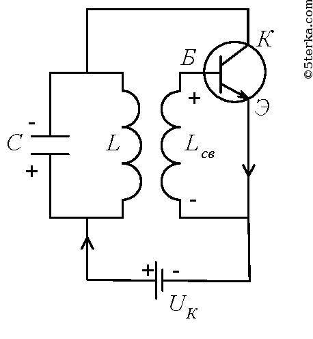 генератора на транзисторе.