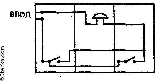 схему прокладки проводов