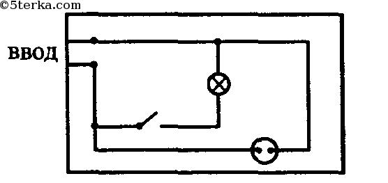 на рисунке изображена схема: