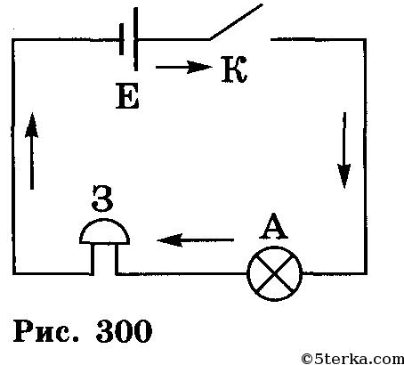 схему электрической цепи,