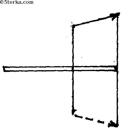 изображение предмета в плоском зеркале: