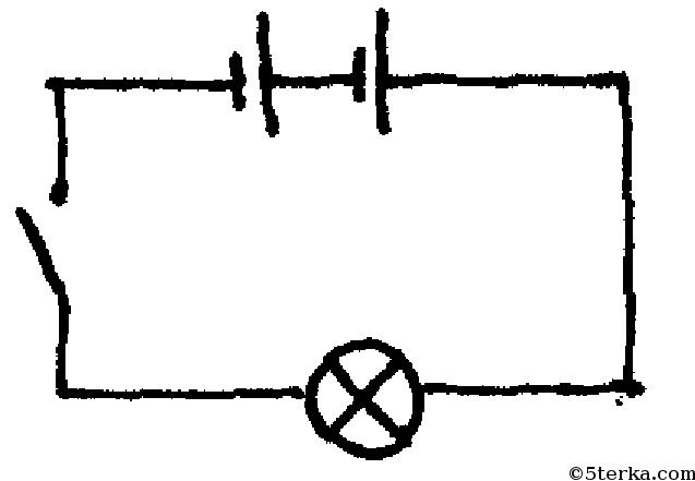 Принципиальная схема карманного фонаря 71