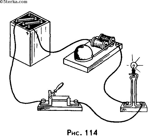 """Глава 1. Электрические явления.  Онлайн решебник. по физике. решебника  """"Физика.  9 класс """" С.В.Громов, Н.А.Родина."""