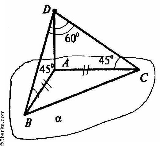 геометрия 10 11 класс контрольные работы