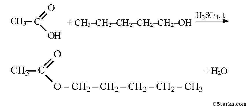 реакции уксусной кислоты с