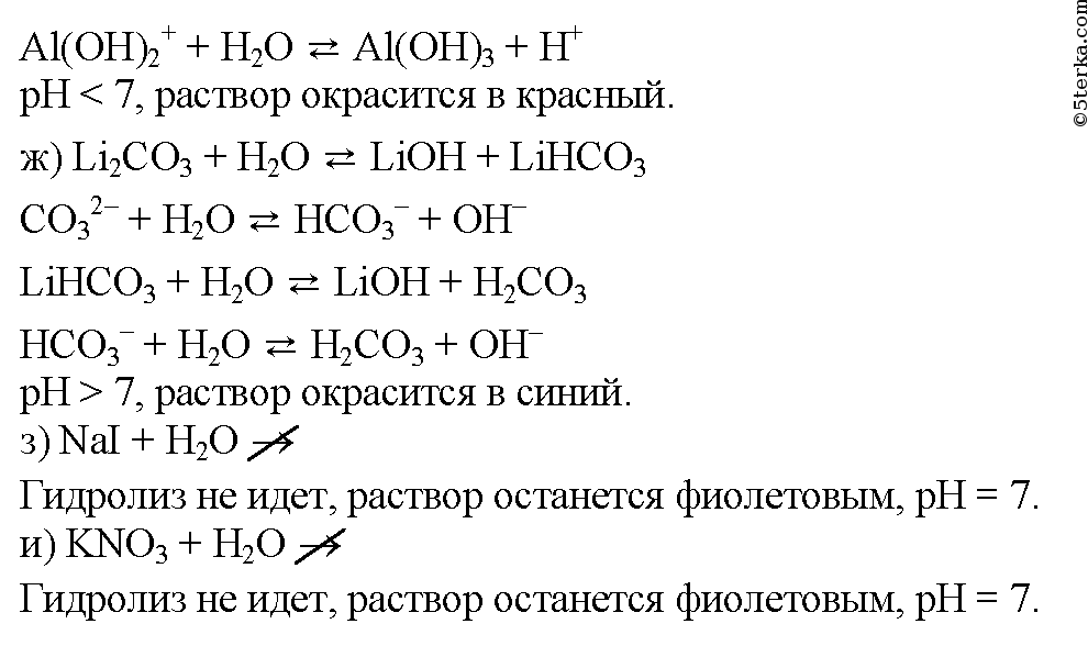 Пользуясь таблицей растворимости, напишите полные и сокращенные ионные уравнения реакций (если они происходят)