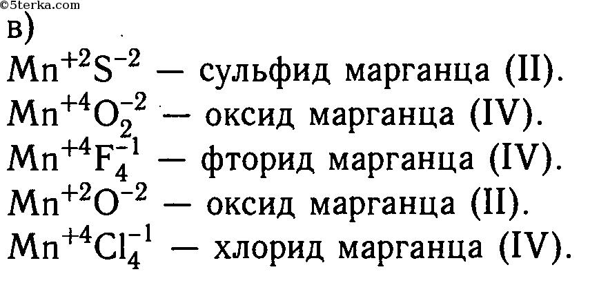 Гдз по химии 8 класс названия бинарных соединений формулы которых
