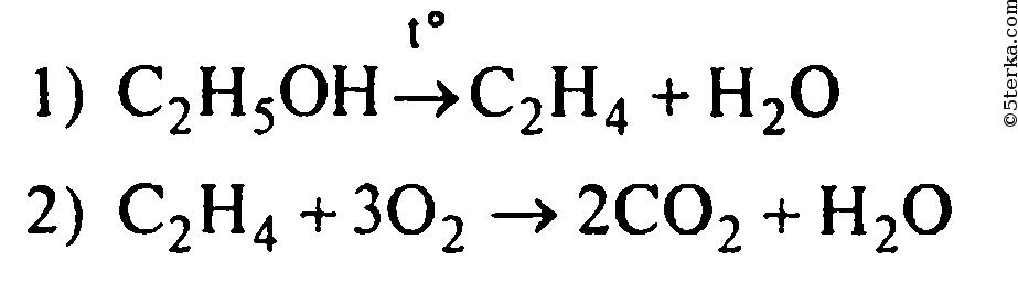 реакции гидратации этилена