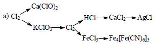 составьте уравнения химической реакции в ионном виде